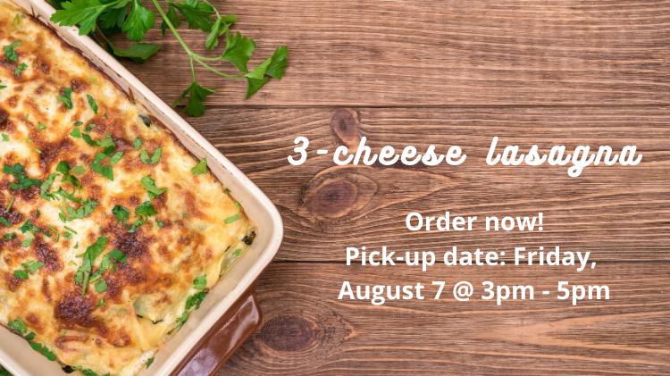 3-cheese Lasagna Dinner Box