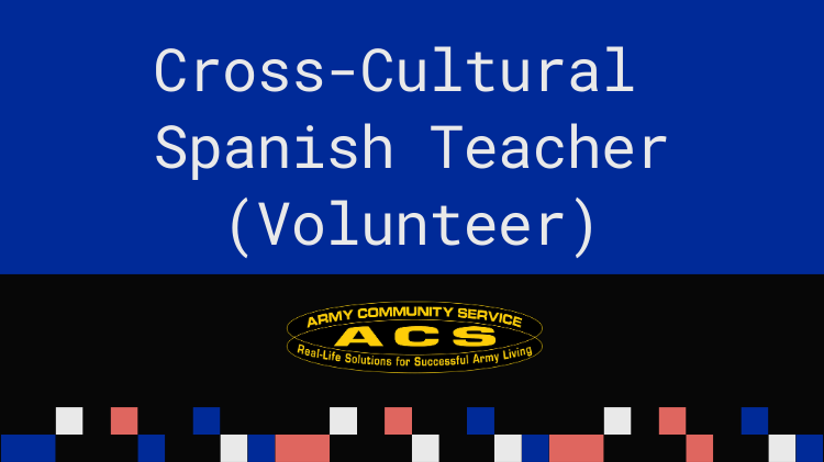 Seeking for a Spanish Teacher (Volunteer)