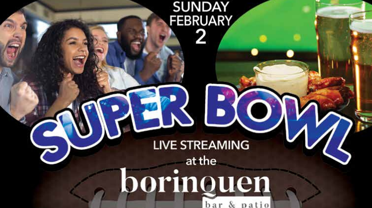LIV Super Bowl Live at the Borinquen Bar & Patio